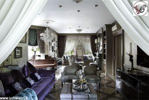 اتاق نشیمن و پذیرایی , بازسازی خانه قدیمی