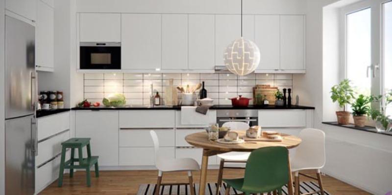 طراحی آشپزخانه به سبک مردم اسکاندیناوی