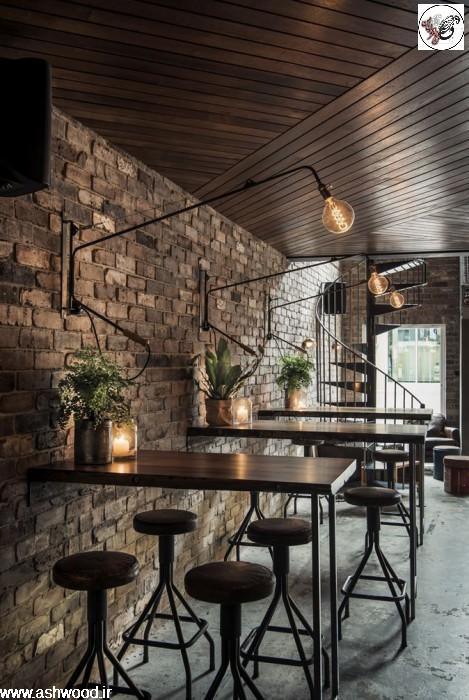 دکوراسیون چوبی رستوران , بهترین ایده های طراحی رستوران