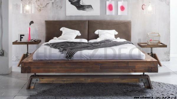اتاق خواب سبک روستیک