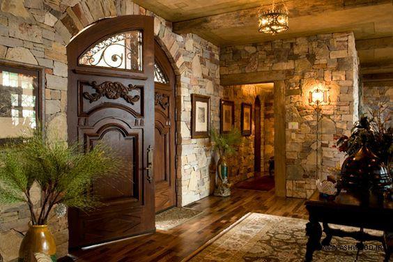 درب چوبی طرح روستیک, درب چوبی روستیک 2020
