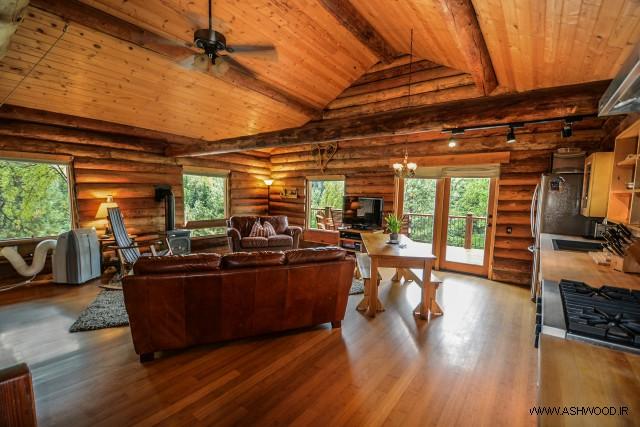 ایده هایی برای لوازم چوبی سبک صنعتی و روستیک