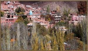 نمایی زندگی روستایی و معماری سنتی و بومی ایران زمین