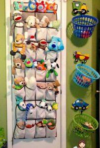 سازماندهی اسباب بازی بچه ها