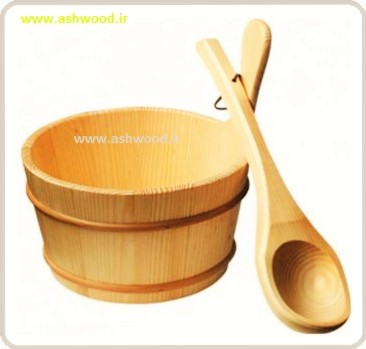 ساخت سطل چوبی سونا