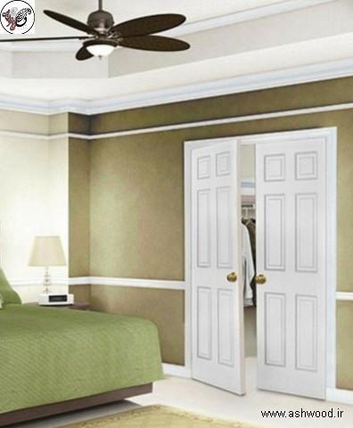 مدل در چوبی اتاق خواب , جدیدترین مدل درب چوبی اتاق