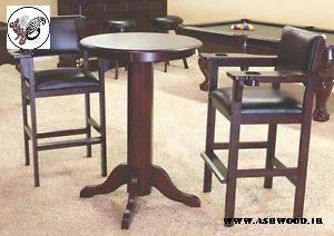 استاندارد میز تماشا , صندلی تماشا , میز بار , صندلی بار