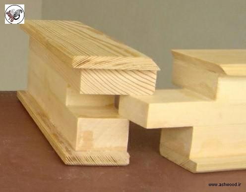 اتصال کلاف یک درب چوبی