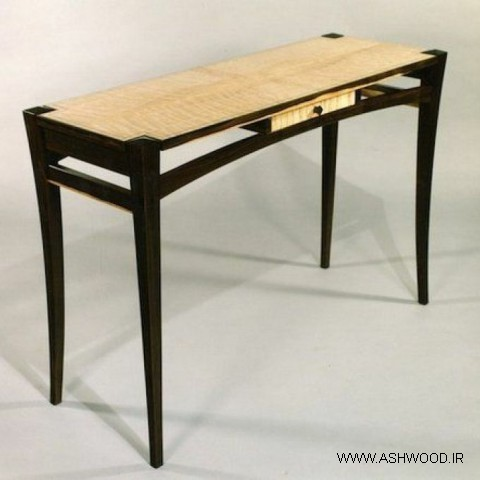 میز کنسول چوبی , دکوراسیون دست ساز آنتیک