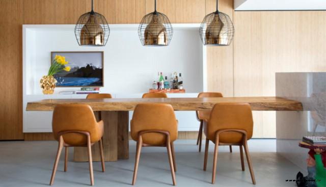 جدیدترین مدل های میز چوبی٬ ساخت میز چوبی٬ میز چوبی٬