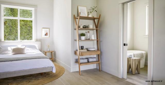 شلف چوب بلوط , شلف چوبی درختی , قفسه چوبی متحرک