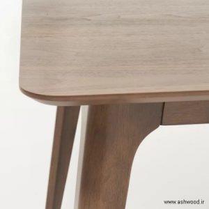 صندلی چوبی , میز ناهارخوری چوبی , میز ناهار خوری , میز چوب بلوط