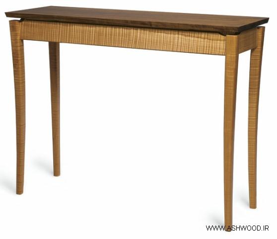 میز کنسول چوبی , دکوراسیون دست ساز آنتیک , ساخت میز کنسول چوبی