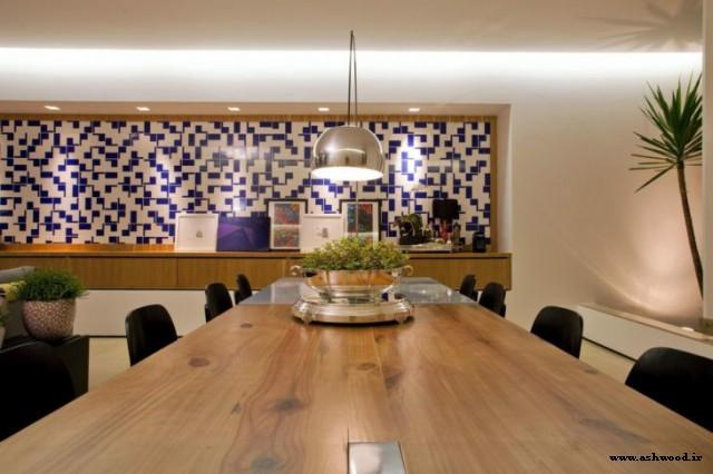 میز چوبی: 60 مدل زیبا برای خانه شما + عکس میز ناهارخوری