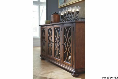 میز کنسول, انواع آینه کنسول چوبی و MDF