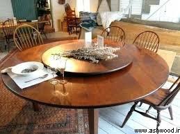 میز گرد 10 نفره , میز چوبی
