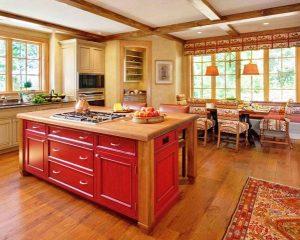 ابعاد استاندارد دکوراسیون چوبی منزل