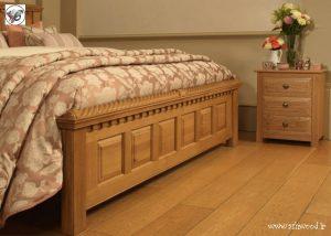 تخت خواب کلاسیک قاب