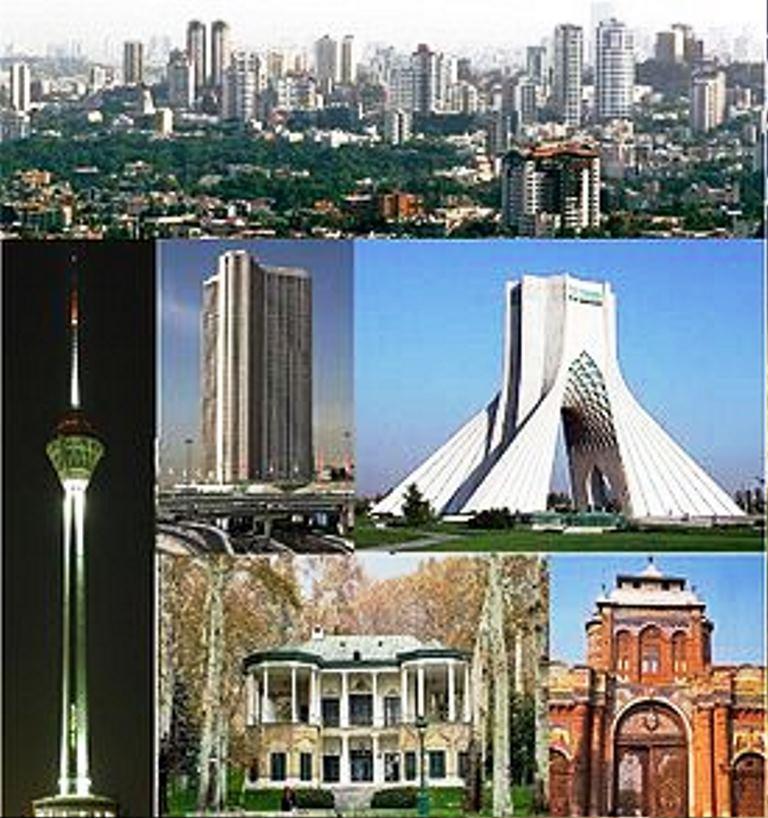 اماکن شناخته شده و توریستی تهران