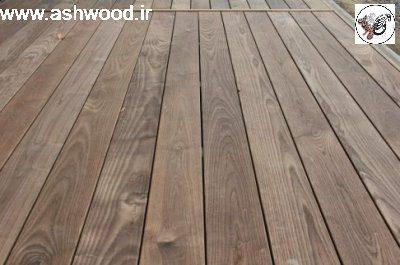 چوب کفپوش ترموود , اش دکینگ ، چوب کف زبان گنجشک فنلاندی