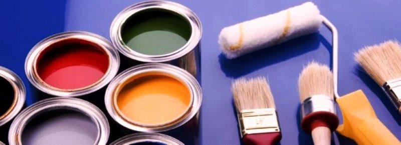 معرفی انواع رنگ و تینر مورد استفاده در ساختمان و دکوراسیون