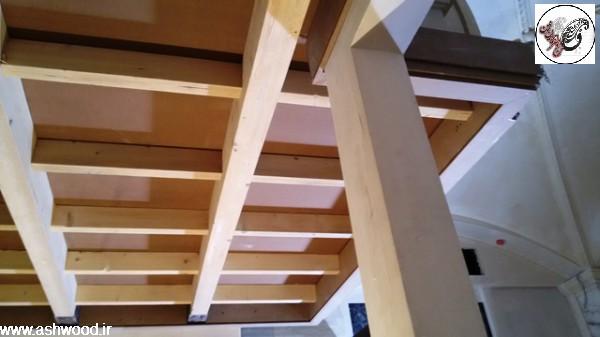 تیر چوبی سقف , تخته و الوار