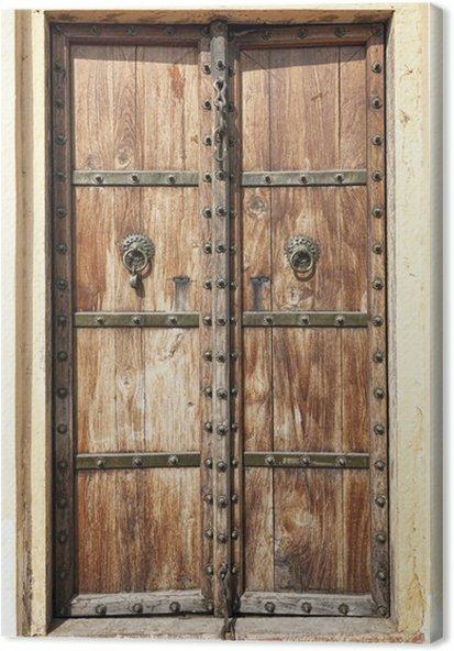 درب چوبی سنتی ایرانی