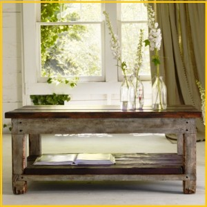میز تمام چوب قهوه خوری یا جلو مبلی