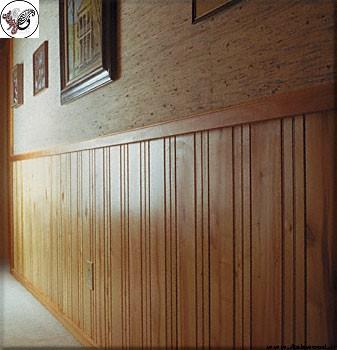 دیوارکوب چوبی کلاسیک , ازاره چوبی