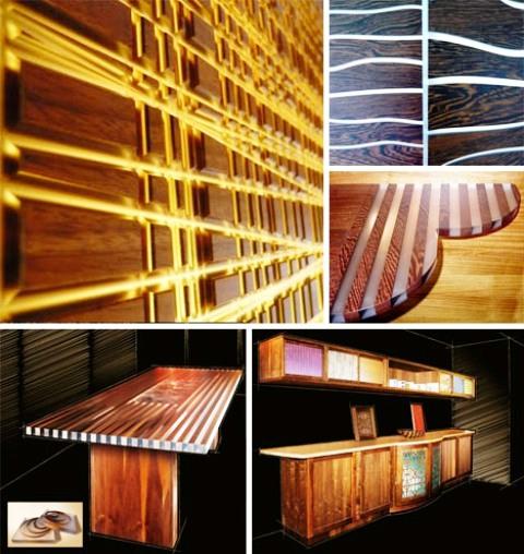 ایده هایی برای روشنایی با دکوراسیون چوبی