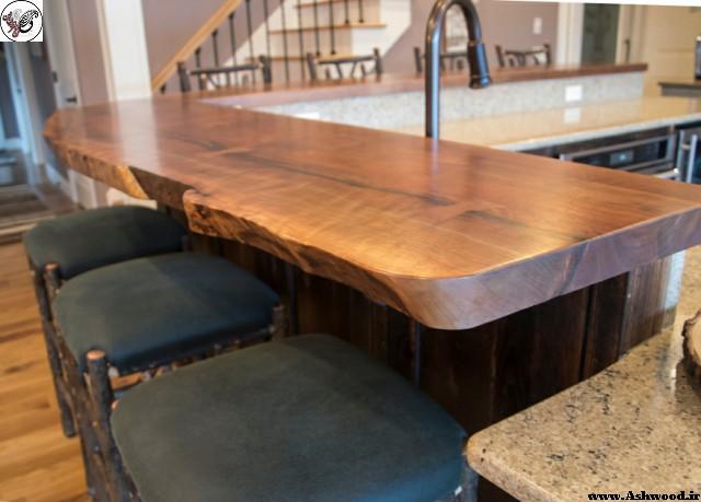 چوب گردو , دکوراسیون چوب گردو , درب چوب گردو , میز چوب گردو , پله چوب گردو , دکور گردو