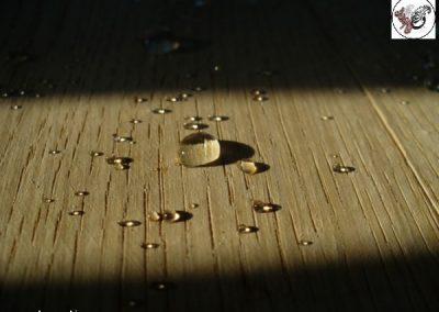 آبگریز کردن چوب
