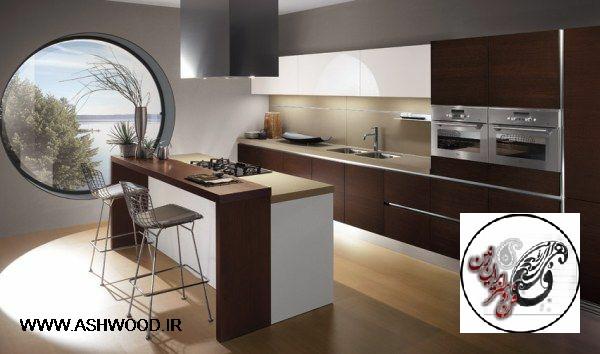 والپیپرهای فوق العاده زیبا از آشپزخانه های مدرن ، طراحی خانه ، والپیپرهای فوق العاده زیبا از آشپزخانه های مدرن