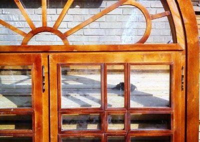 ساخت پنجره چوبی