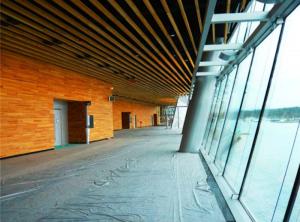 دیوار چوبی در ونکوور کانادا