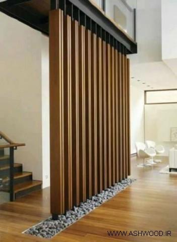 دیوار و پارتیشن چوبی