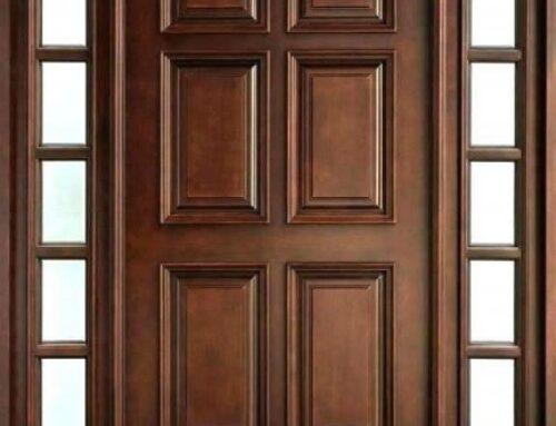 درب چوبی , شناخت ویژگی های  انواع درب چوبی , روکش و لمینت