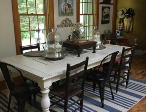 آنچه شما باید درباره ابعاد میز ناهارخوری چوبی بدانید+ استاندارد میز ناهارخوری
