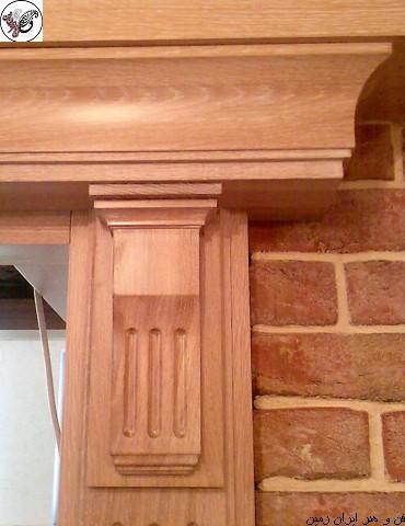 چهارچوب چوبی , ایده های زیبا از انواع چهارچوب درب چوبی