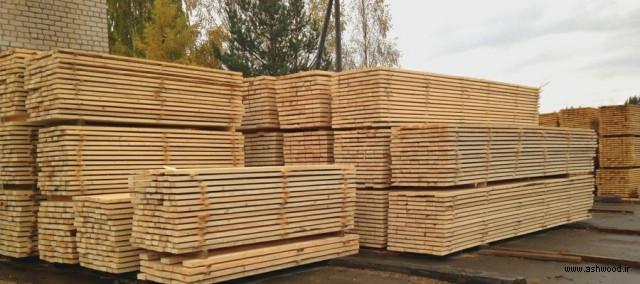 فروش چوب کاج روسی از مبدا, تهیه و فروش انواع تخته نراد, چوب روسی