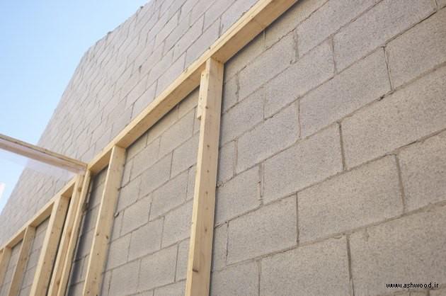 نصاب لمبه چوبی , چگونه محل نصب دیوارکوب یا سقف را آماده کنیم