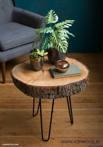 استفاده از تنه درخت , اسلب چوب