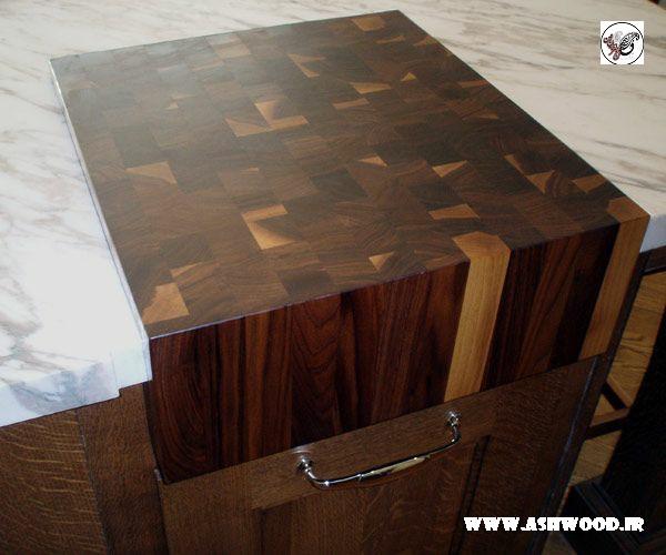 صفحه ساخته شده از الیاف پایانی چوب