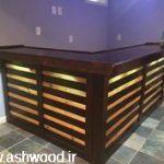 میز بار ، دکوراسیون آشپزخانه چوبی