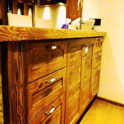 سبک روستیک در دکوراسیون چوبی منزل