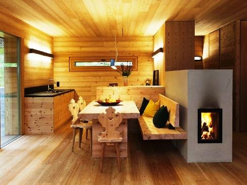 رنگ چوب کاج ، رنگ کاری لمبه چوب روسی