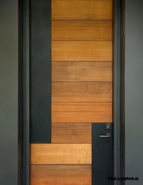 تولید انواع درب چوبی ساختمانی