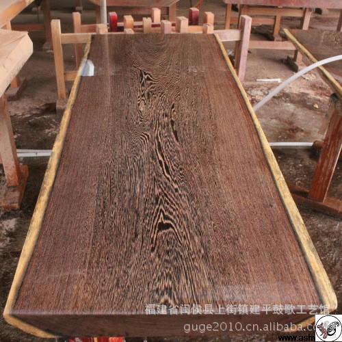 چوب و روکش ونگه در لوازم خانگی و دکوراتیو
