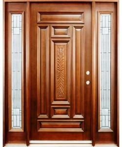 ساخت درب و چهارچوب چوبی کارخانه کمرد