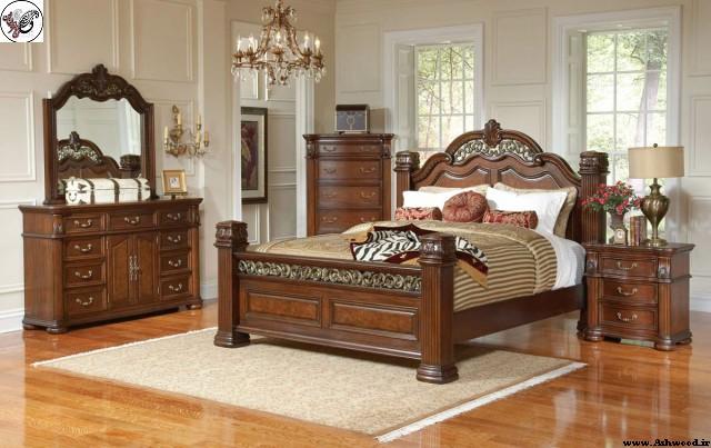 دکوراسیون اتاق خواب به سبک کلاسیک